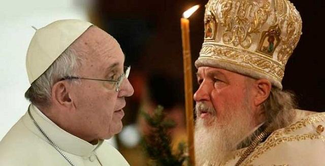 Encuentro entre el Papa Francisco y Su Santidad Kirill