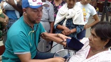 El aporte universal de los médicos cubanos.