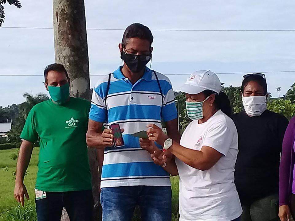 Obreros fueron distinguidos con la Medalla Álvaro Barba Machado.