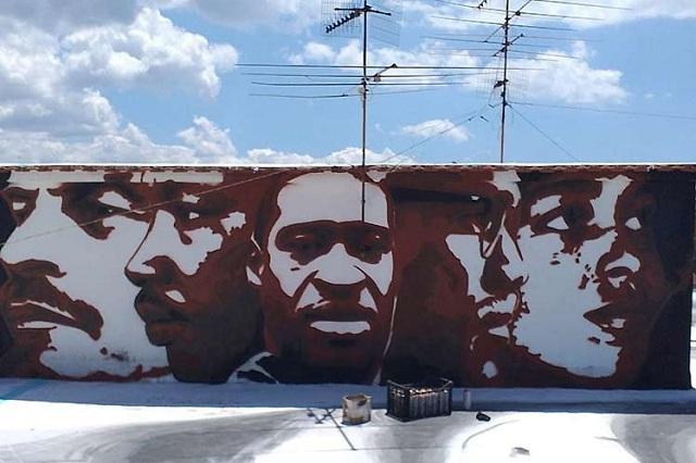 Lucha contra el racismo aviva arte callejero en el mundo