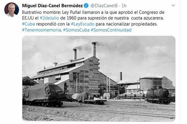 Tenemos memoria, afirma presidente de Cuba ante hostilidad de Estados Unidos.