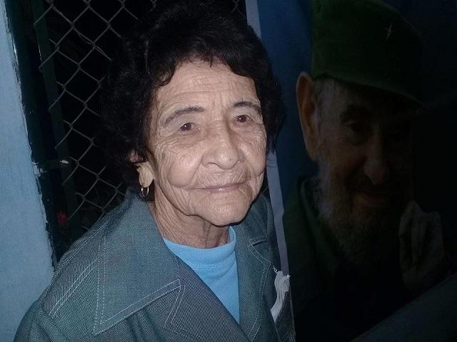 Heroína del Trabajo de la República de Cuba, Celia Hernández López.