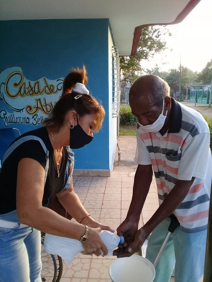 Cumplimiento de las medidas higiénico-sanitaria.