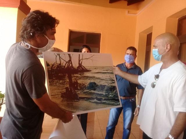 Artista de la plástica Lázaro Yovany Enríquez