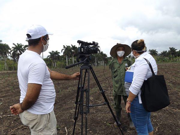 Periodistas de la televisión en Mayabeque