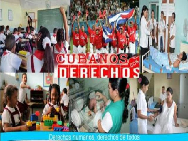 Cuba un país garante de derechos