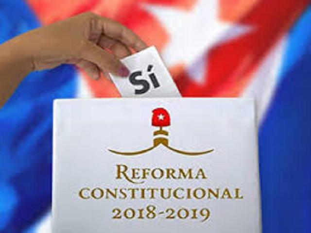 Carta Magna de la República de Cuba.