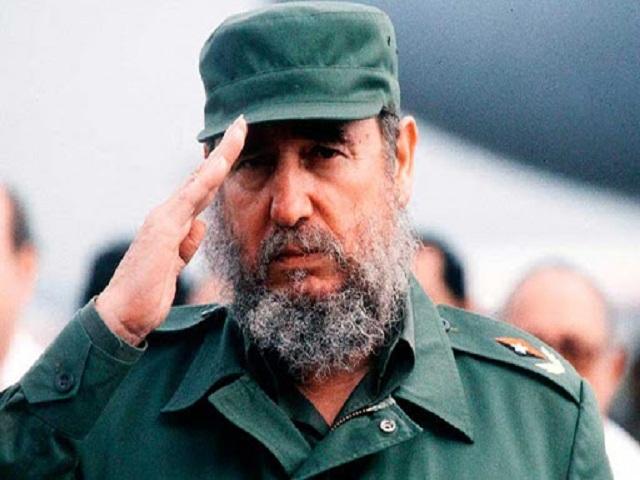 Fidel Castro, eterno Comandante en Jefe.