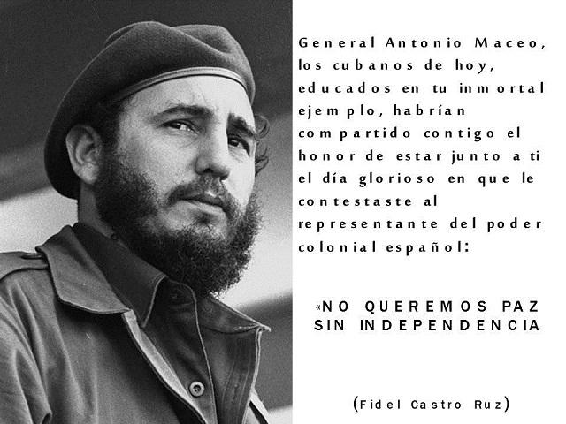 Maceo en el actuar de los jóvenes cubanos