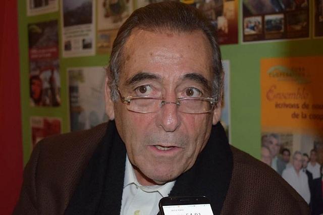Presidente de la Asociación de Solidaridad y Cooperación, Víctor Fernández.
