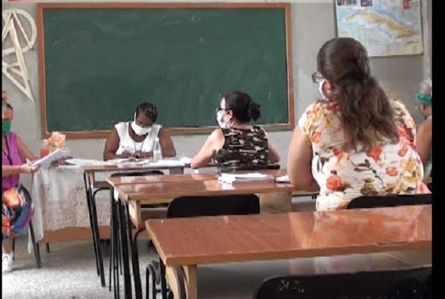 Preparan en Madruga reinicio del curso escolar (+Audio)