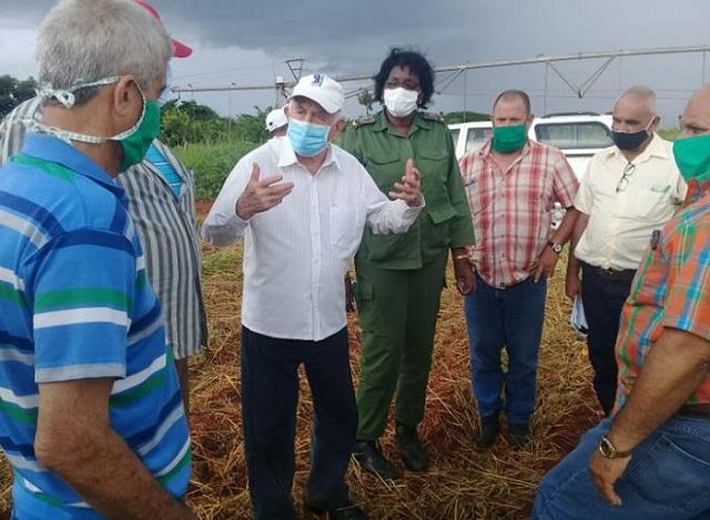 Segundo Secretario del Comité Central del Partido, José Ramón Machado Ventura, recorrió formas productivas del sector cooperativo y campesino de la provincia Mayabeque.