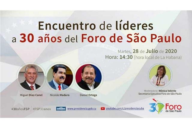 Foro de Sao Paulo, del lado correcto de la historia e integración