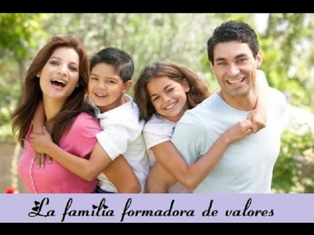 La familia y su rol en la formación de valores