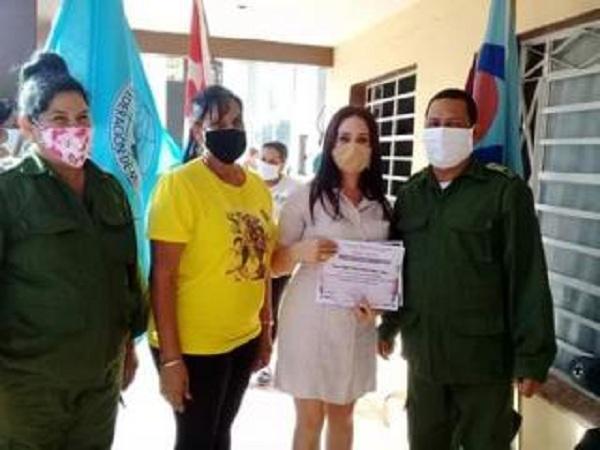 Otorgan a Fiscalía Municipal de San José de las Lajas condición de Centro 60 Aniversario de la Federación de Mujeres Cubanas.