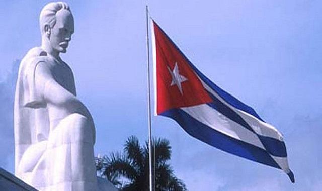 José Martí, Héroe Nacional de la República de Cuba.