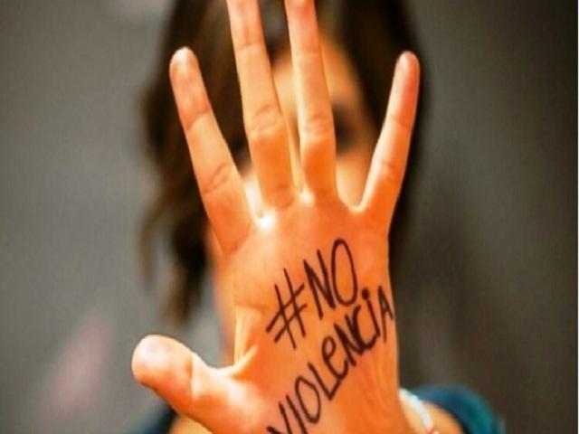 No a la violencia contra la mujer.