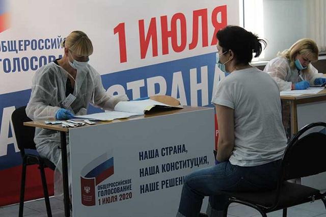 Más de 108 millones 640 mil rusos estaban convocados para asistir a las urnas en todo el país, en el sexto día de votación.