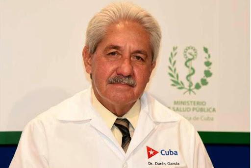 Francisco Durán García, director de Epidemiología del Ministerio de Salud Pública de Cuba
