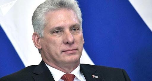 Presidente Díaz-Canel rinde tributo a mártires de Cuba