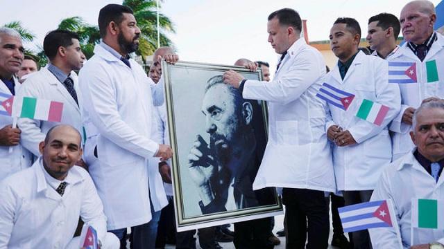 Medicina cubana: paradigma ante el mundo.