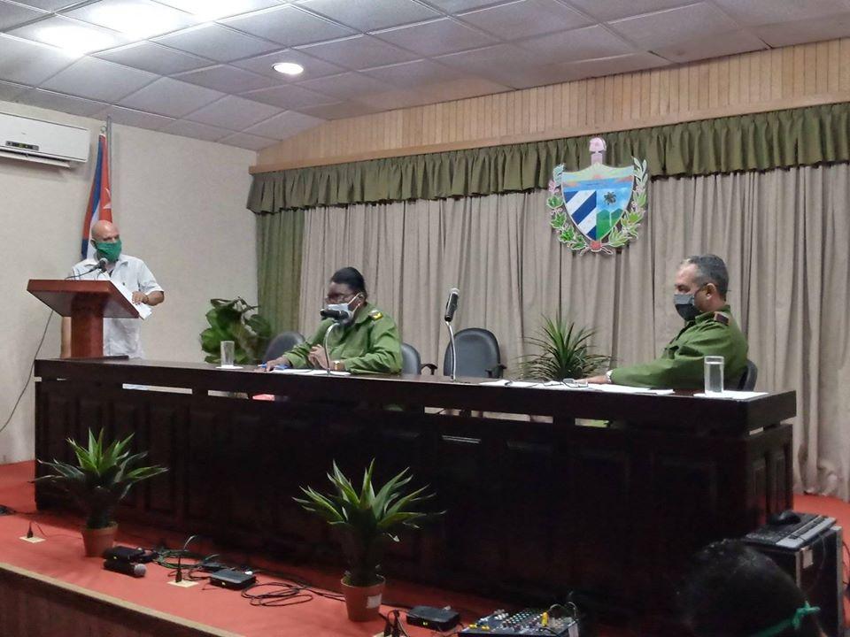Consejo de Defensa Provincial de Mayabeque refuerza medidas epidemiológicas.