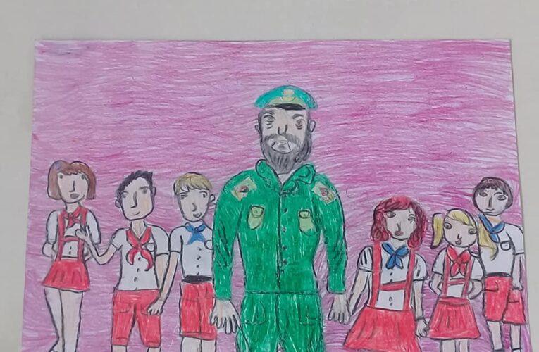 Exposición personal Fidel entre nosotros