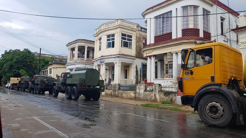 Retoman acciones de desinfección en La Habana.