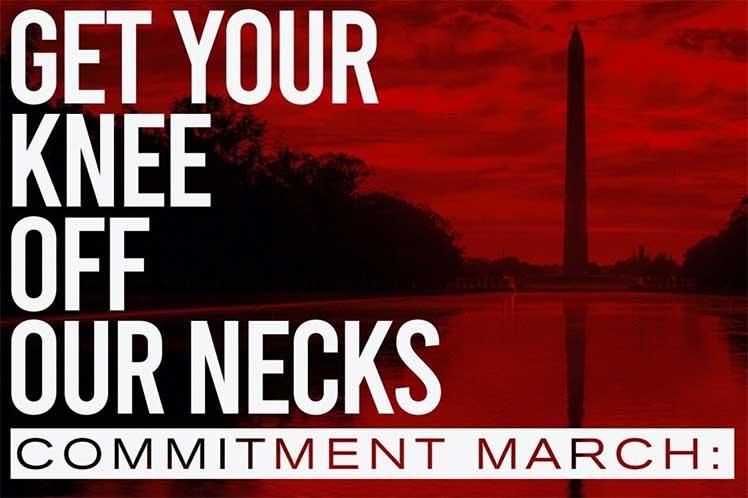 Marcharán a favor de la justicia racial en capital de Estados Unidos