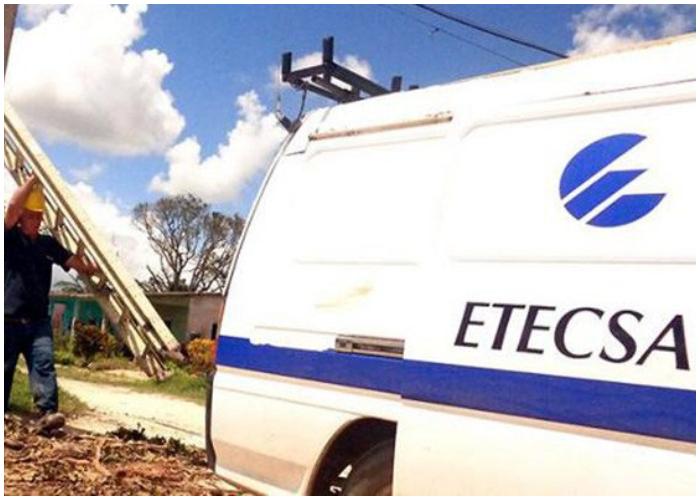 Restablecen paulatinamente servicios de telecomunicaciones afectados en Mayabeque