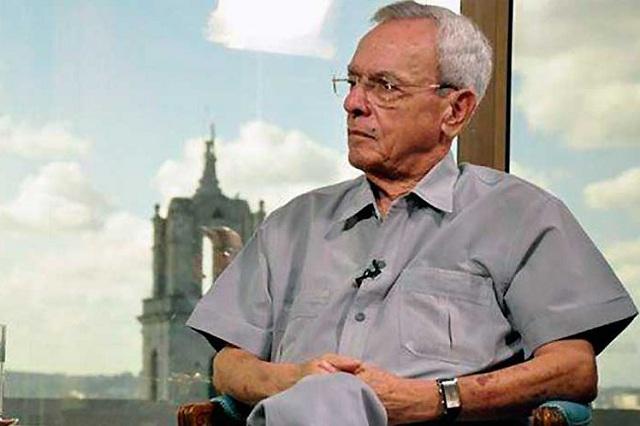 Jornada de duelo oficial en Cuba en recordación a Eusebio Leal
