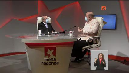Mesa redonda radiotelevisiva. Foto.Captura de pantalla.
