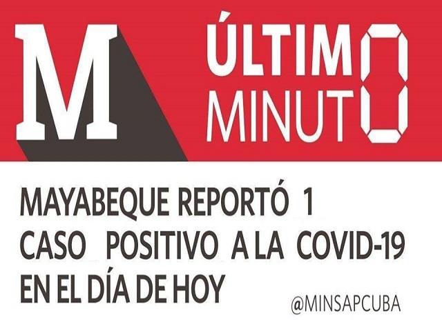 Mayabeque reporta un caso positivo a la Covid-19 procedente de México
