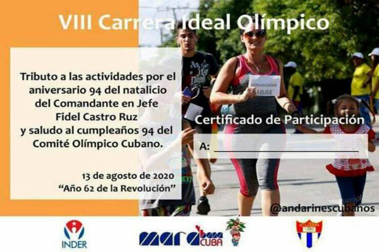 Carrera Ideal Olímpico por Fidel.
