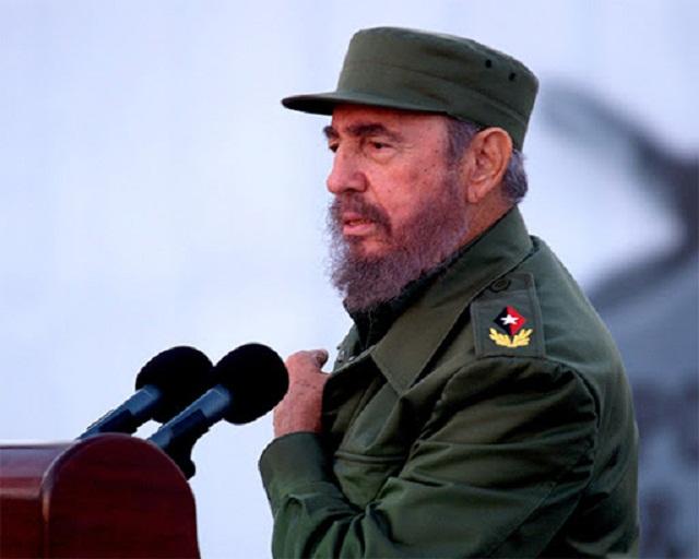 Fidel entre nosotros.