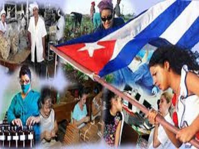 La mujer cubana sigue haciendo Revolución sobre la marcha