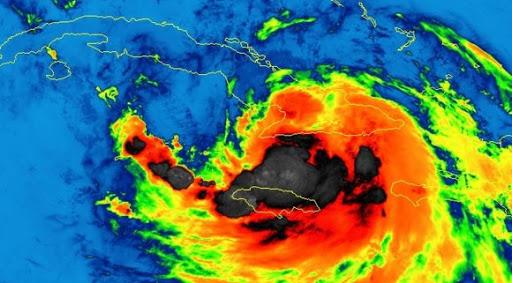 Tormenta tropical Laura.