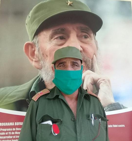 Oliden Rubio Suárez, presidente del Consejo Defensa en el Cangre.