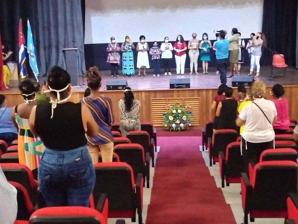 Federadas de Mayabeque celebran aniversario 60 de la organización.