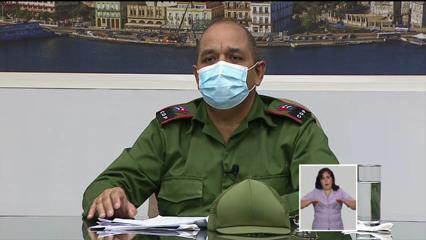 Gobernador de La Habana, Reinaldo García Zapata. Foto. Captura de pantalla