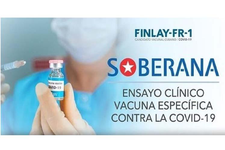 Cuba inicia mañana ensayo clínico de vacuna contra Covid-19.