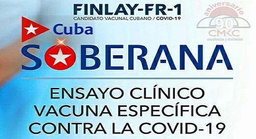 Mesa Redonda sobre el candidato vacunal cubano Soberana-01.
