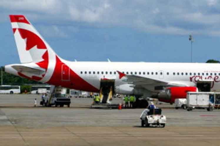 Comienza llegada de turistas canadienses a Cuba