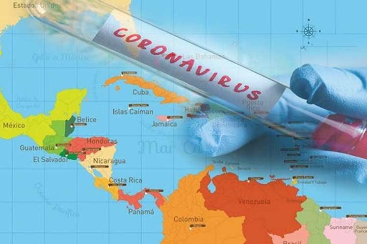 Implacable la Covid-19 en América Latina y el Caribe.