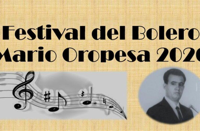 Festival del Bolero Mario Oropesa, ¡participa!