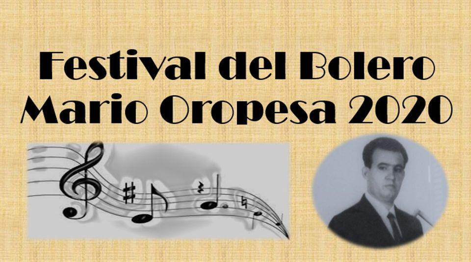 Mario Oropesa Bolero Festival.
