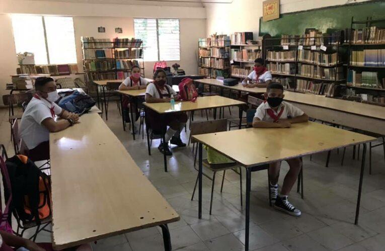 Estudiantes de Jaruco regresan a las aulas (Audio)