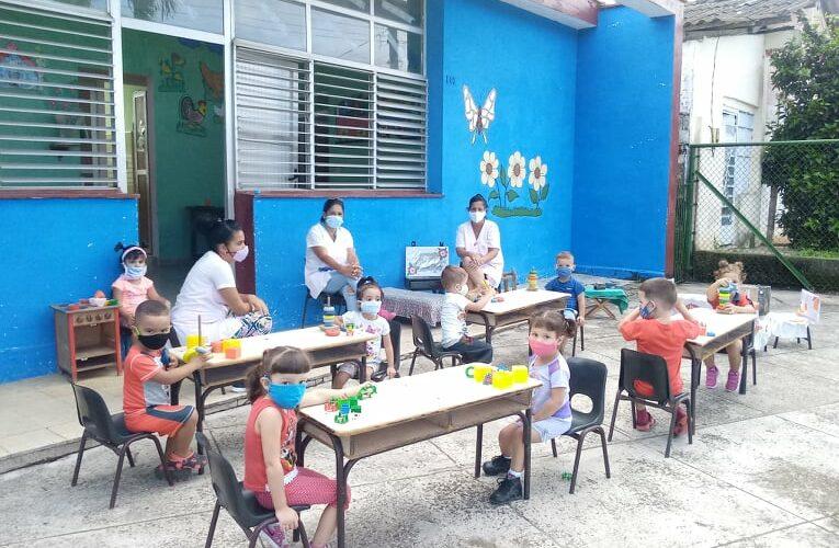 Retoman actividades con responsabilidad en Círculos Infantiles de Bejucal (+Audio)