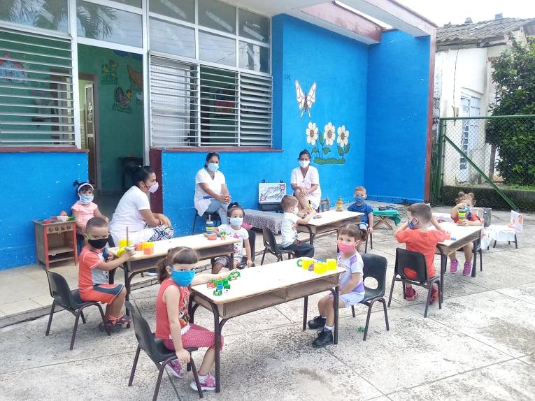 Retoman actividades con responsabilidad en Círculos Infantiles de Bejucal.