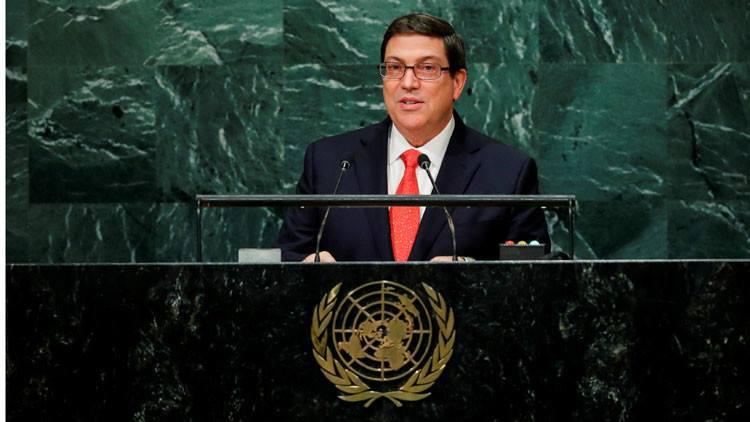 Intervendrá Bruno Rodríguez en reunión virtual por Aniversario de la ONU